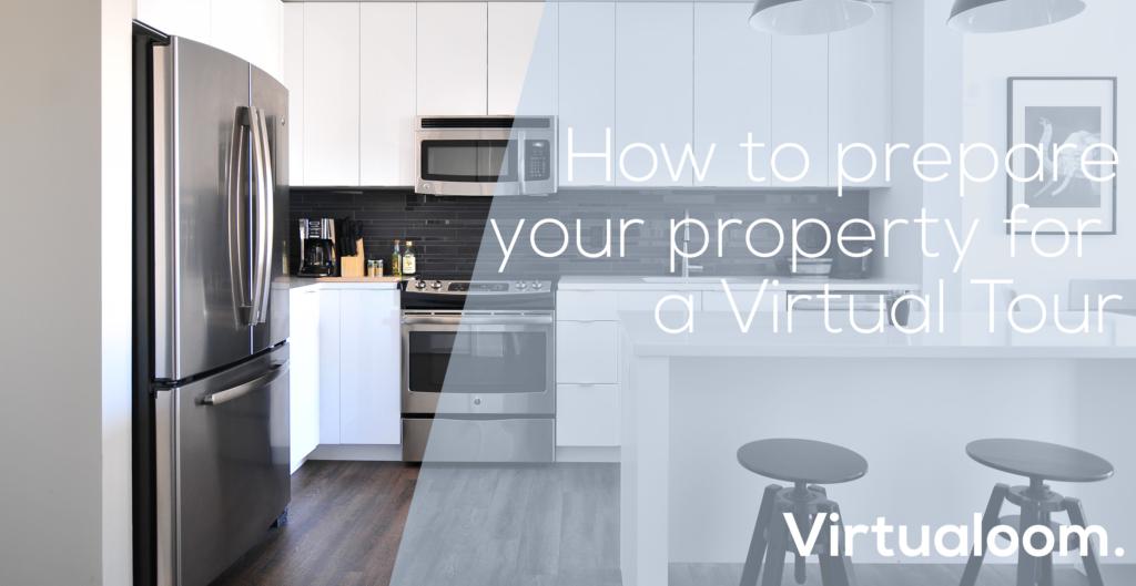 prepare for property virtual tour